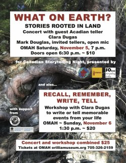 Canadian Storytelling Night Event, presented by Storytelling Orillia