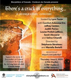 There's a Crack in Everything: Online Storytelling Concert