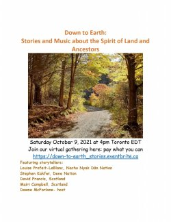 Down to Earth: Stories and Music about the Spirit of Land and Ancestors
