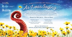 St. John's Storytelling Festival Presents: As I Was Saying… The Art of Recitation in Newfoundland and Labrador