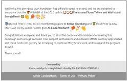 StorySave 2020 Fundraiser Winners!