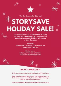StorySave Holiday Sale!