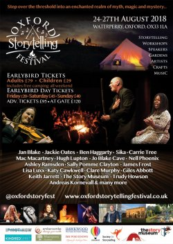 Oxford Storytelling Festival 2018