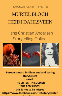 Virtual Concert: Muriel Bloch (France) & Heidi Dahlsveen (Norway) - The Little Tin Soldier and The Red Shoes