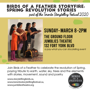 Birds of a Feather Storyfire event