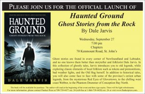 Dale Jarvis' Haunted Ground Book Launch in St. John's
