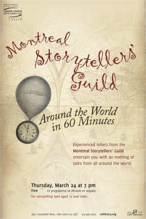 Montreal Storyteller's Guild Presents: Around the World in 60 Minutes