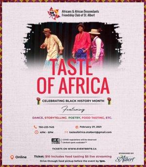 St. Albert Taste of Africa 2021