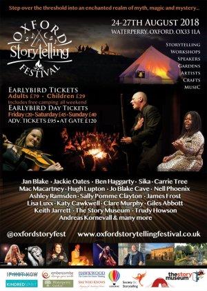 Oxford Storytelling Festival 2018