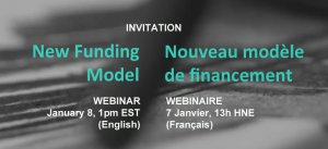 Canada Council's New Funding Model Upcoming Webinar