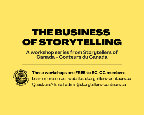 New workshop series from SC-CC: The Business of Storytelling