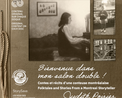 Get the New StorySave Album by Judith Poirier!