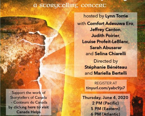 There is a Crack in Everything An online storytelling concert